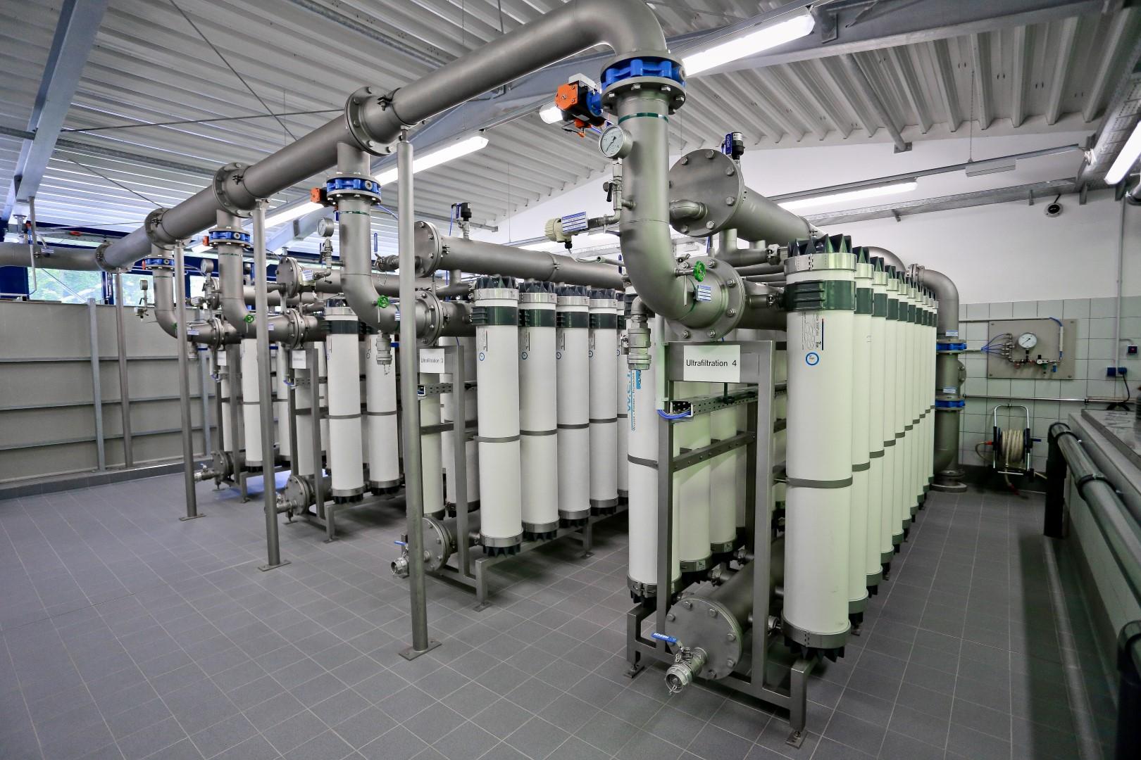 Plafog - Trinkwasseraufbereitungsanlage Grundmühle