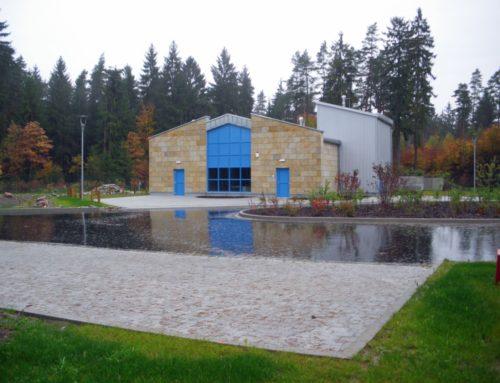 Trinkwasseraufbereitungsanlage Mönchrödener Forst